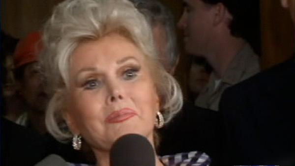 Actress Zsa Zsa Gabor - Provided courtesy of KABC