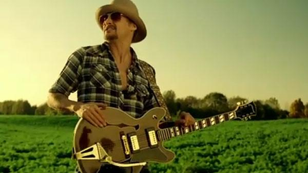 Kid Rock appears in his Born Free video. - Provided courtesy of WMG