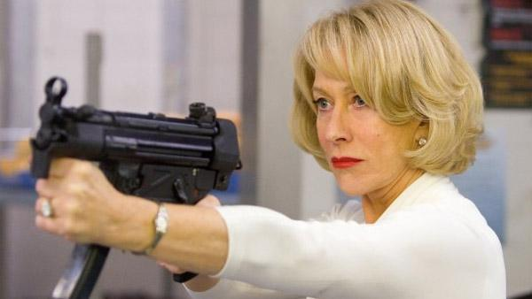 Helen Mirren appears in a scene from Red. - Provided courtesy of Summit Entertainment / Di Bonaventura Pictures / DC Entertainment