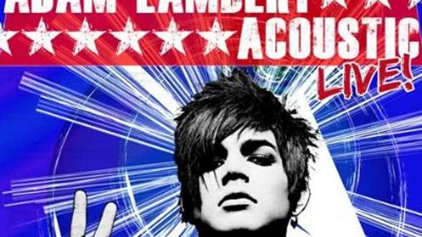 Adam Lambert appears on the cover of Acoustic Live!, his new 5-song EP set for release in December 2010. - Provided courtesy of 19 Entertainment / RCA Records
