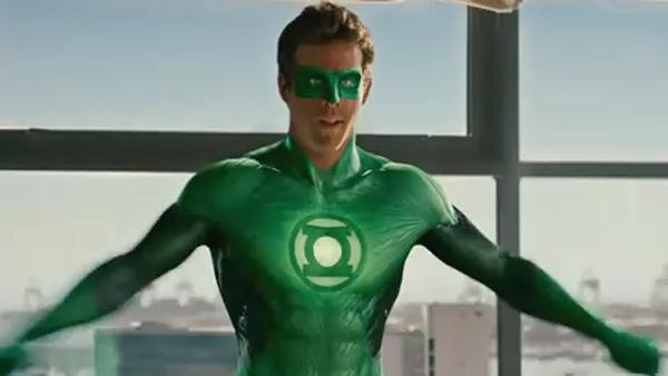 Ryan Reynolds appears in Green Lantern. - Provided courtesy of Warner Bros.