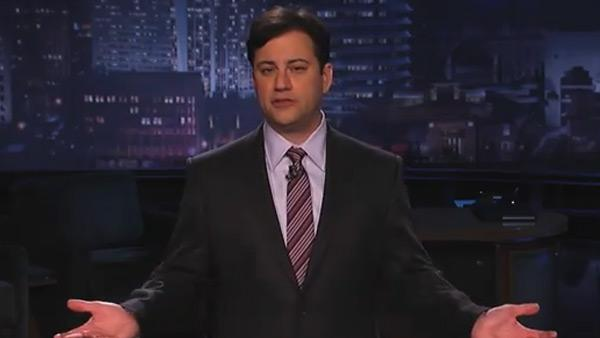 Jimmy Kimmel appears on Jimmy Kimmel Live! on Nov. 16, 2010 to promote National UnFriend Day. - Provided courtesy of ABC