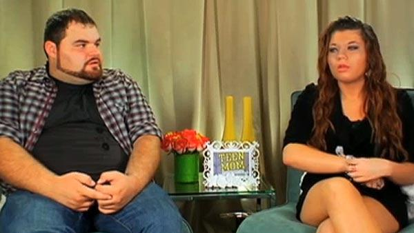 Amber Portwood and ex-fiance Gary Shirley appear in a television interview on MTV following their on-air violent confrontation in September 2010. - Provided courtesy of MTV