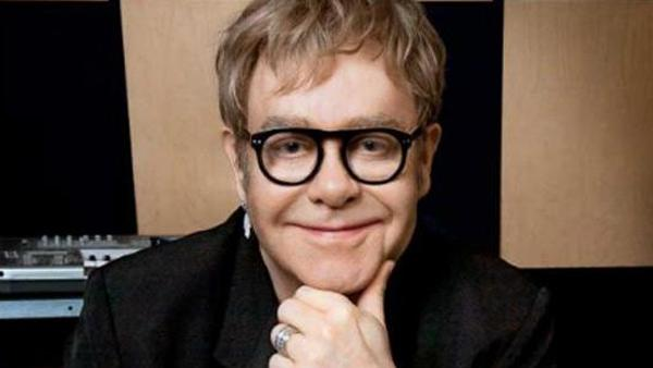 Elton John appears in an undated 2010 photo on his MySpace page.