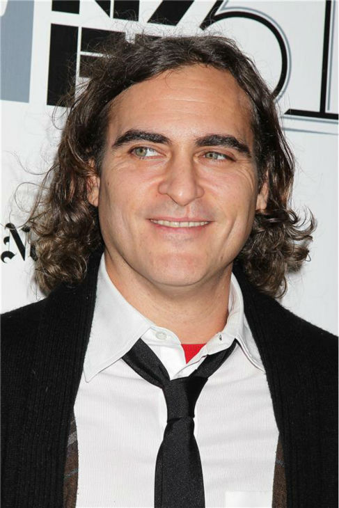Joaquin Phoenix attends the closing night gala presentation of 'Her. A Spike Jonze Love Story' at the 2013 New York Film Festival on Oct. 12, 2013.