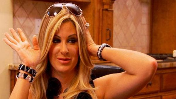 Kim Zolciak appears in a scene from The Real Housewives of Atlanta in 2010. - Provided courtesy of Bravo