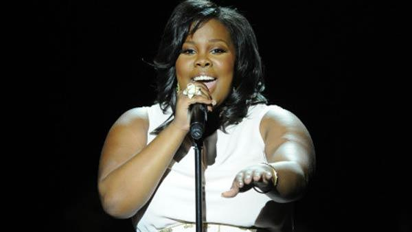 Amber Riley performing on Glee - Provided courtesy of KABC / Fox Flash