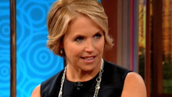 Katie Couric appears on The Wendy Williams show on Nov. 22, 2010. - Provided courtesy of Debmar-Mercury