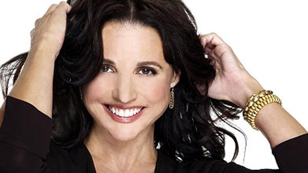 Julia Louis-Dreyfus appears in a promotional photo for the CBS series The New Adventures of Old Christine. - Provided courtesy of STNG / CBS