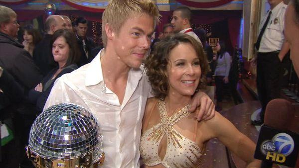 Jennifer Grey talks after Dancing With the Stars 11th season finale. - Provided courtesy of KABC