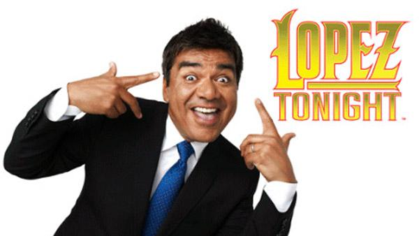 George Lopez appears in a promotional photo for his TBS talk show Lopez Tonight. - Provided courtesy of TBS