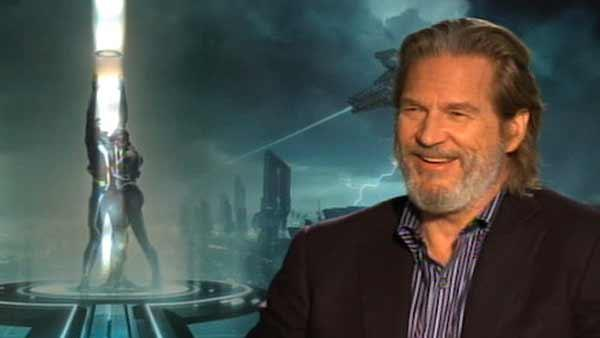 Jeff Bridges gets back in the game with Tron: Legacy - Provided courtesy of KABC / OTRC