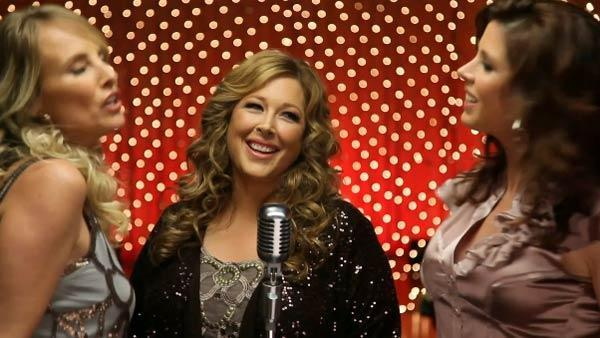 Wilson Phillips appears in the video I Wish It Could Be Christmas Every Day, released on Nov. 29, 2010. - Provided courtesy of Sony Music Entertainment