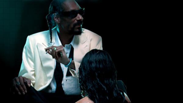 Snoop Dogg appears in a promotional photo for his new 2010 single Wet. - Provided courtesy of Doggystyle records / EMI