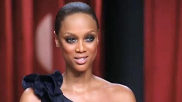 Tyra Banks in a still from the Americas Next Top Model 15th cycle finale. - Provided courtesy of CW