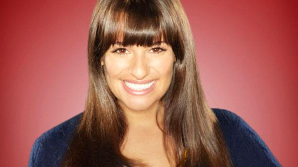 Lea Michele in a promotional still for Glee. - Provided courtesy of  Miranda Penn Turin/FOX