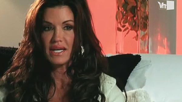 Janice Dickinson appears in a scene from Celebrity Rehab in an episode that aired on Dec. 1, 2010. - Provided courtesy of VH1