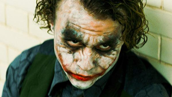 Heath Ledger appears as the Joker in a scene from the 2008 movie The Dark Knight. - Provided courtesy of Warner Bros. Pictures