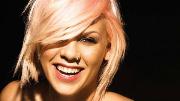 Pink appears in an undated 2010 photo posted on her website. - Provided courtesy of pinkspage.com