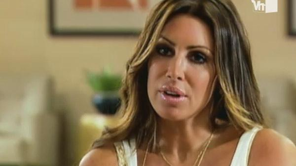Rachel Uchitel appears in a scene from the VH1 reality show Celebrity Rehab. - Provided courtesy of VH1