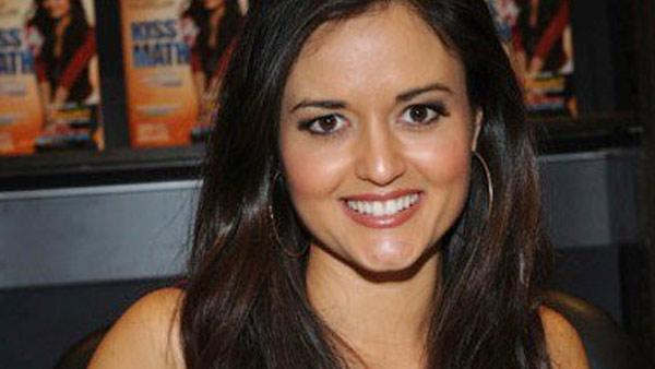 Danica McKellar at a book signing for her second book, Kiss My Math in August 2008. - Provided courtesy of facebook.com/danicamckellar