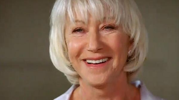 Helen Mirren appears in an ad promoting Wii Fit Plus in November 2010. - Provided courtesy of youtube.com/user/NintendoWiiUK