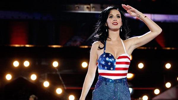 Katy Perry performs onstage at the Vh1 Divas Salute the Troops on Friday, Dec. 3, 2010 in San Diego, Calif. - Provided courtesy of AP / Matt Sayles