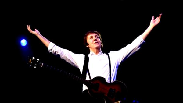 Paul McCartney appears in an undated photo from his official website. - Provided courtesy of paulmccartney.com