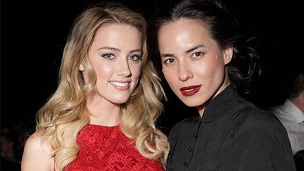Amber Heard and Tasya van Ree attend GLAAD Celebrates 25 Years of LGBT Images in the Media at the Harmony Gold Theatre on December 3, 2010 in Los Angeles, California. - Provided courtesy of tasyavanree.com