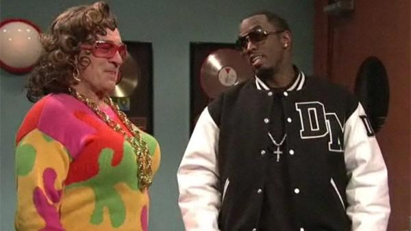 Diddy and Robert De Niro appear in a Saturday Night Live sketch on Dec. 4, 2010. - Provided courtesy of NBC