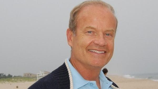 Kelsey Grammer appears in a photo from his official Twitter account.