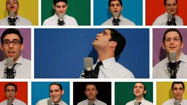 The Maccabeats, a Yeshiva University group, perform their song Candlelight in this YouTube video posted on Nov. 26, 2010. - Provided courtesy of youtube.com/user/westdawg63