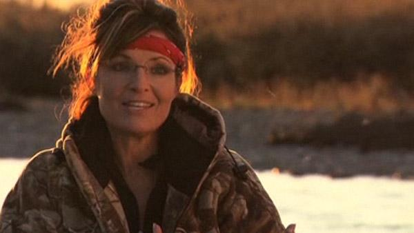 Sarah Palin is seen hunting a caribou on Sarah Palins Alaska in an episode that aired on Dec. 5, 2010. - Provided courtesy of TLC