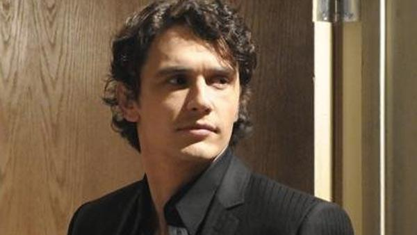 James Franco appears in a scene from ABC soap opera General Hospital. - Provided courtesy of ABC