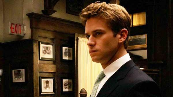 Armie Hammer in a production still from the 2010 film The Social Network. - Provided courtesy of Columbia TriStar / Merrick Morton