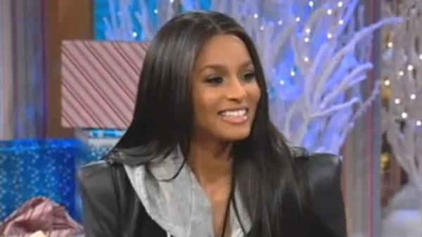 Ciara appears on a December 13, 2010 episode of The Wendy Williams Show - Provided courtesy of Debmar-Mercury productions