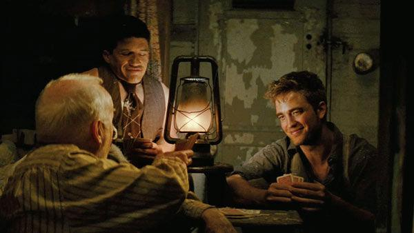 Robert Pattinson, who plays 'Jacob Jankowski,' in a scene from the 2011 film, 'Water for Elephants.'
