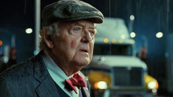 Hal Holbrooke, who plays the older 'Jacob Jankowski,' in a scene from the 2011 film, 'Water for Elephants.'