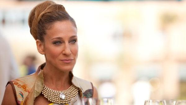 Sarah Jessica Parker in a production still for Sex and The City 2. - Provided courtesy of MMIX New Line Productions