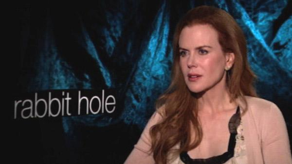 Nicole Kidman speaks to KABC Television, OnTheRedCarpet.coms parent company, about her 2010 film Rabbit Hole in December 2010. - Provided courtesy of OTRC