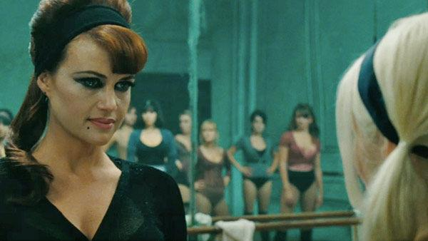 Carla Gugino as 'Madame Gorski' in a scene from the 2011 film, 'Sucker Punch'.