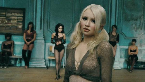 Emily Browning as 'Baby Doll' in a scene from the 2011  film, 'Sucker Punch'.