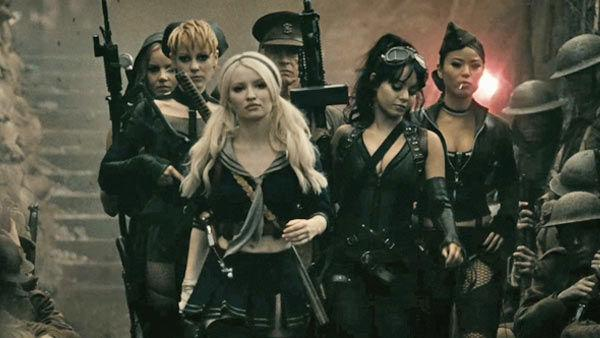 Emily Browning as Baby Doll and the cast in a scene from the 2011  film, Sucker Punch. - Provided courtesy of Warner Bros. Entertainment, Inc.