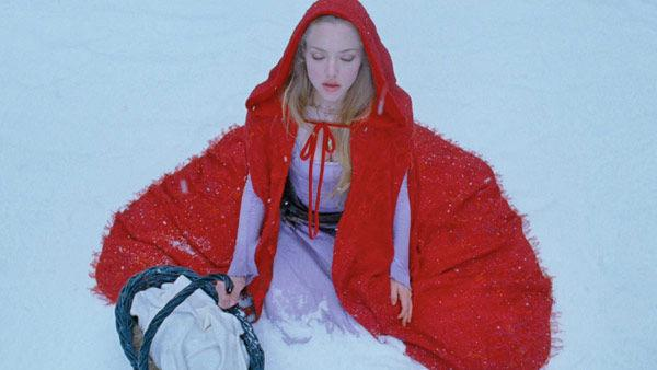 Amanda Seyfried as 'Valerie' in a scene from the 2011  film, 'Red Riding Hood'.