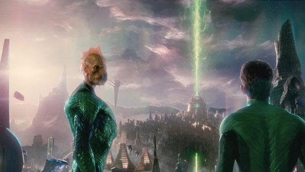 A scene from the 2011  film, 'Green Lantern'.