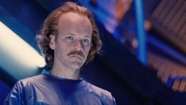 Peter Sarsgaard as 'Hector Hammond' in a scene from the 2011  film, 'Green Lantern'.