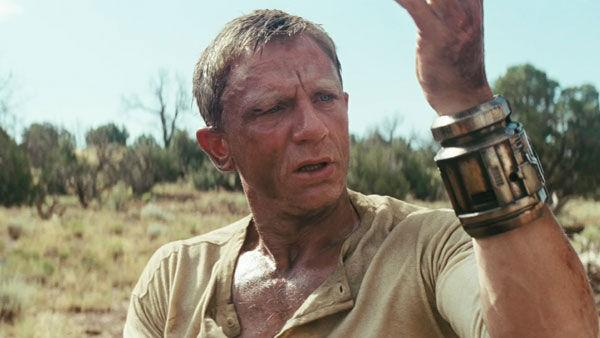 Daniel Craig as 'Jake Lonergan' in a scene from the 2011  film, 'Cowboys & Aliens'.