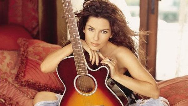 Shania Twain in a promotional photo posted on her Facebook page on Oc. 24, 2009.