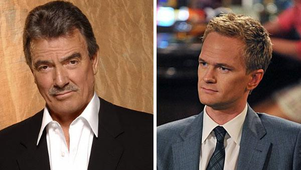 Neil Patrick Harris appears in a scene from How I Met Your Mother. / Eric Braeden appears in a promotional photo for The Young and the Restless. - Provided courtesy of CBS