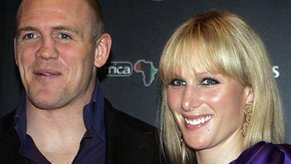 In this Monday April 27, 2009 file photo, Zara  Phillips, granddaughter of Britain's Queen Elizabeth II, and rugby player Mike  Tindall, pose together before taking part in celebrity charity poker tournament, in Monaco.